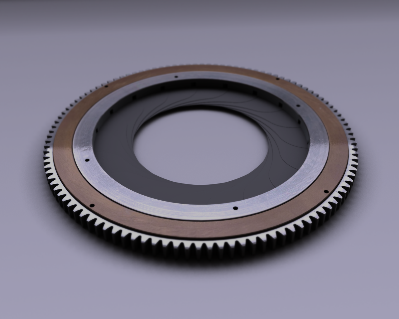 Mechanical iris diaphragm design main image