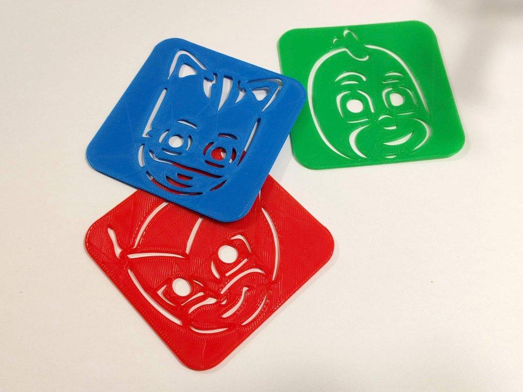 PJ Masks stencils