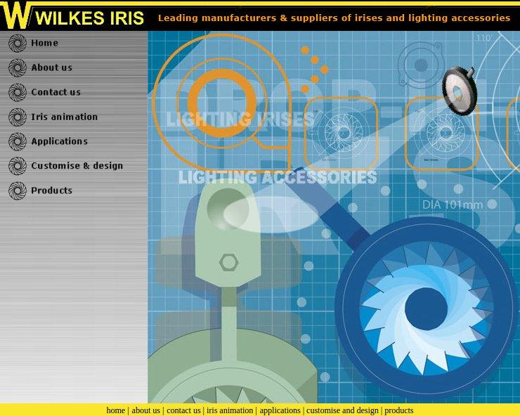 Wilkes Iris website